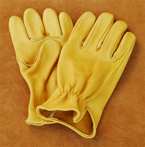 Geier Gloves 240ES Medium Weight Deerskin Driving Gloves (Made in USA)