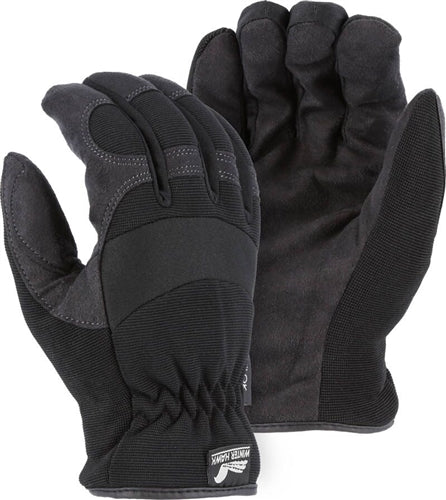 Majestic Gloves 2136BKH Armor Skin HeatLok Lined Gloves (Dozen)