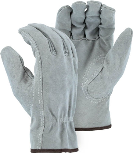 Majestic Gloves 1512 Split Grain Cowhide Leather Driver (Dozen)