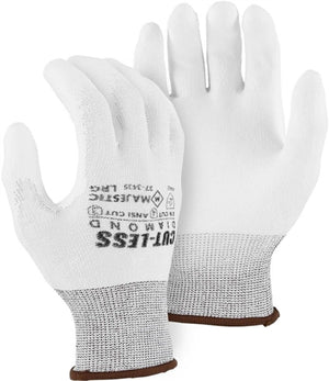 Majestic Gloves 37-3435 Dyneema Cut-less Diamond Cut Level 3 Cut Resistant Gloves (Dozen)