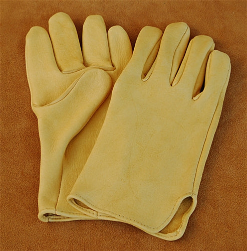 Geier Gloves 440 Elkskin Medium Weight Driving Gloves (Made in USA)