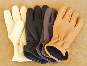 Geier Gloves 204ES LDF Nordic Fleece Lined Deerskin Driving Gloves (Made in USA)