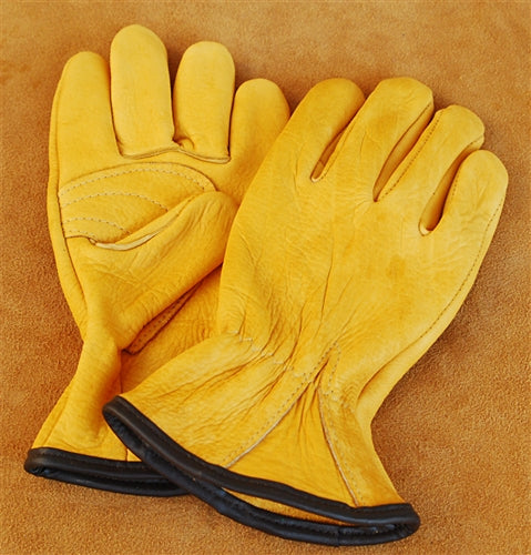 Geier Gloves 730ES Genuine American Buffalo Driver (Made in USA)