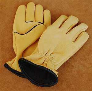 Geier Gloves 244ES LDF Nordic Fleece Lined Deerskin Driving Gloves (Made in USA)