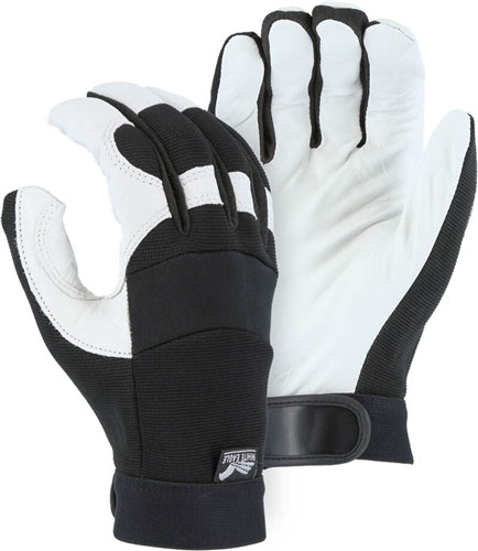 Majestic Gloves 2153 Goatskin Gloves A Grade White Eagle (Dozen)