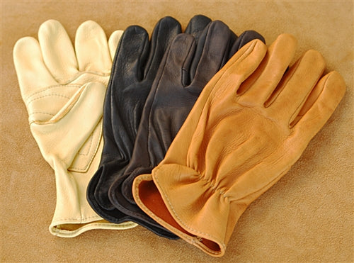 Geier Gloves 230ES Deerskin Driving Gloves (Made in USA)