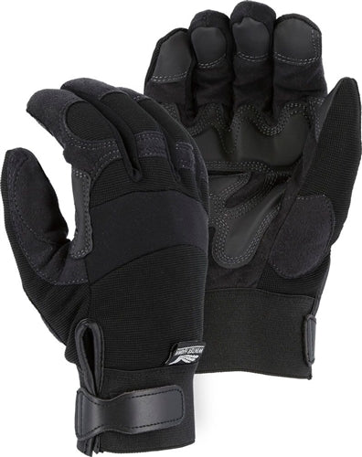 Majestic Gloves 2139BKH Double Palm Winter HeatLok Lined Gloves (Dozen)
