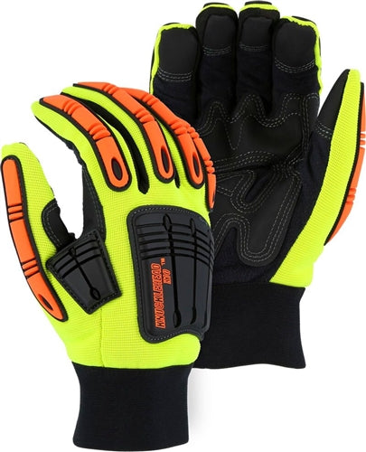 Majestic Gloves 21247 Knucklehead X10 Thinsulate Waterproof Impact Oil/Gas Gloves (Dozen)