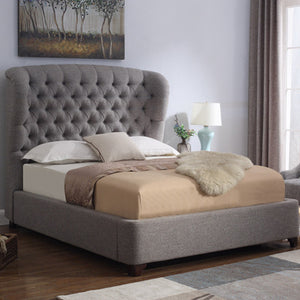 ALEXANDRIA BED IN FAWN - ARRIVING SUMMER 2021