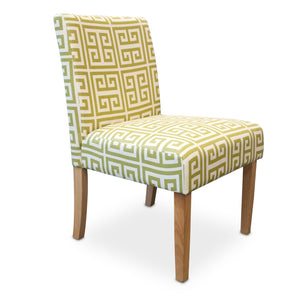 CRETE ACCENT CHAIR-GREEN