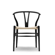 Load image into Gallery viewer, CLASSIC WISHBONE DINING CHAIR - BLACK