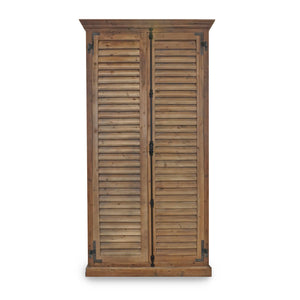 CAROLINA SHUTTER  5 SHELF WARDROBE