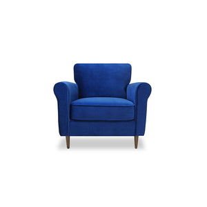 CHESTNUT CHAIR-OCEAN BLUE