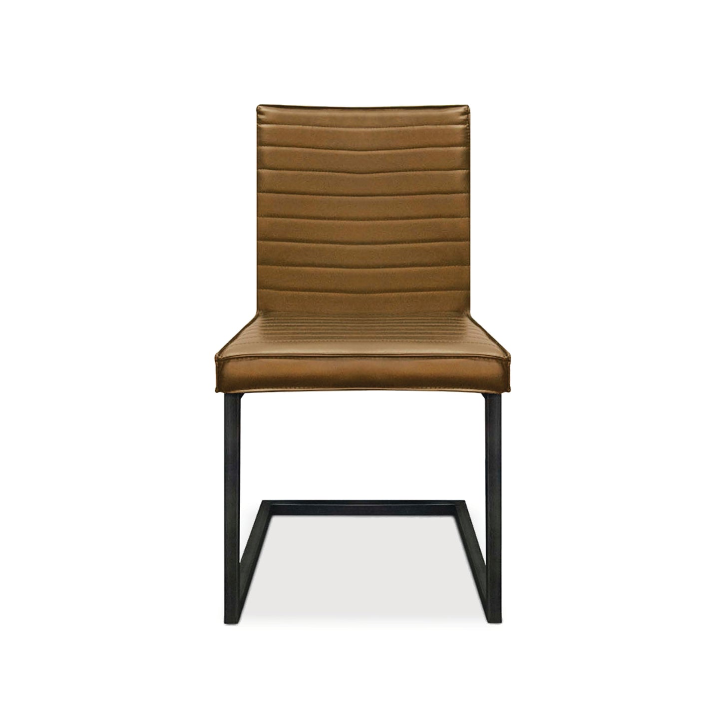 DRAKE SIDE CHAIR - COGNAC (2 PER BOX)
