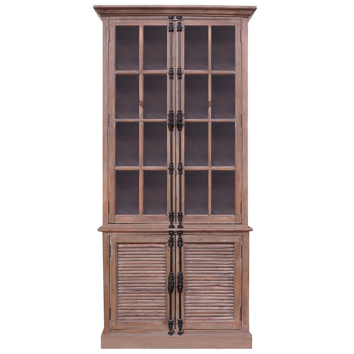 GLASS CASEMENT FRENCH CABINET