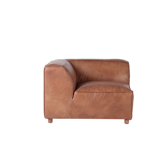 MONTANA LEATHER SECTIONAL - CORNER PIECE
