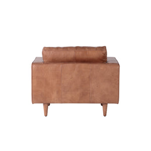 ROMA CHAIR IN COGNAC LEATHER