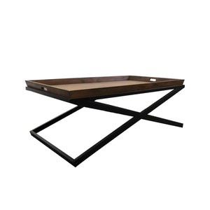 MONACO SQUARE TRAY TOP COFFEE TABLE