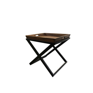 MONACO SQUARE TRAY TOP SIDE TABLE