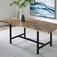 Load image into Gallery viewer, RECLAIMED MOZAIC DINING TABLE