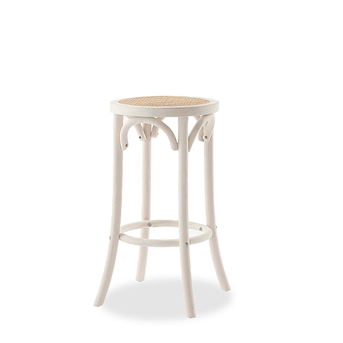 REGAL RATTAN BARSTOOL - WHITE WASH