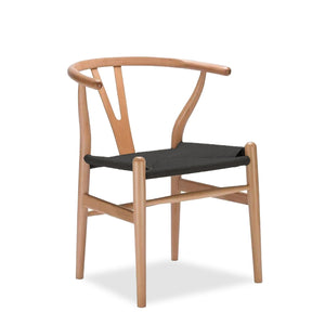 CLASSIC WISHBONE DINING CHAIR-NATURAL
