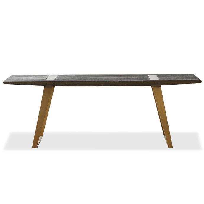 TELLURIDE DINING TABLE   -  see matching bench