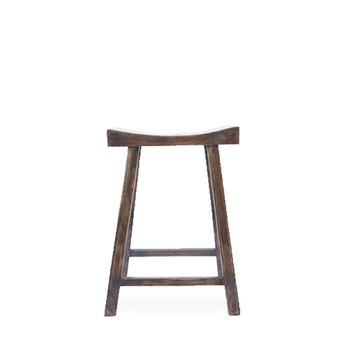 TIBETAN COUNTER STOOL - NATURAL