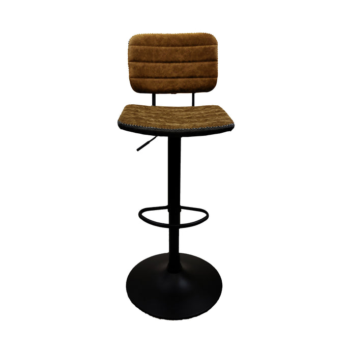 TRADEWINDS ADJUSTABLE STOOL - COGNAC (2 PER BOX)