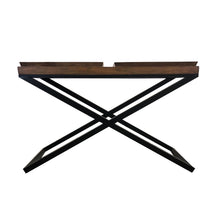 Load image into Gallery viewer, MONACO SQUARE TRAY TOP CONSOLE TABLE