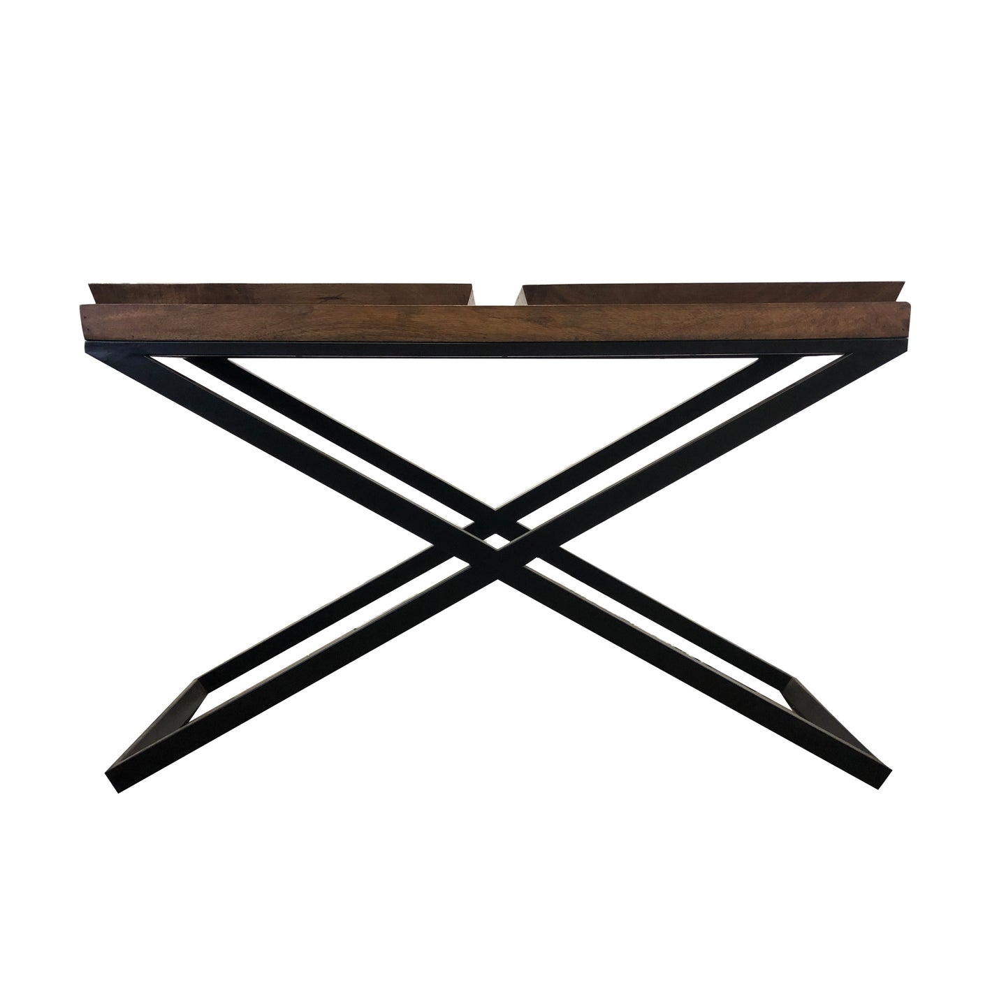 MONACO SQUARE TRAY TOP CONSOLE TABLE