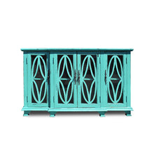 Load image into Gallery viewer, TURTLE CABINET-TURQUOISE