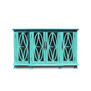 TURTLE CABINET-TURQUOISE