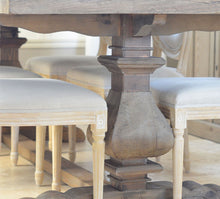 Load image into Gallery viewer, BALUSTRADE DINING TABLE-NATURAL
