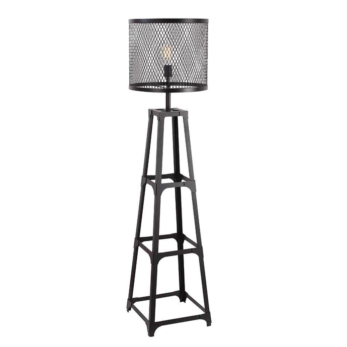 FOUNDRY MESH SHADE FLOOR LAMP
