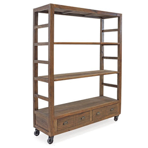 ROSTOCK RECLAIMED BOOKSHELF