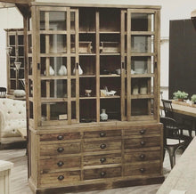 Load image into Gallery viewer, SALVAGED PINE DISPLAY CABINET