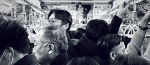 picture on japanese subway