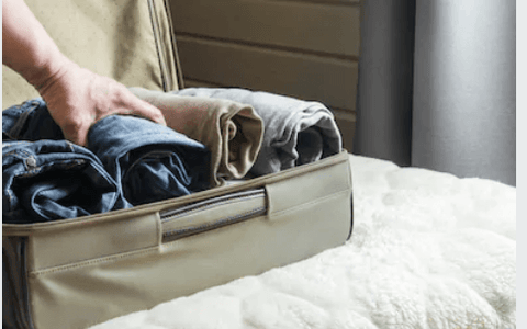 rolling clothes