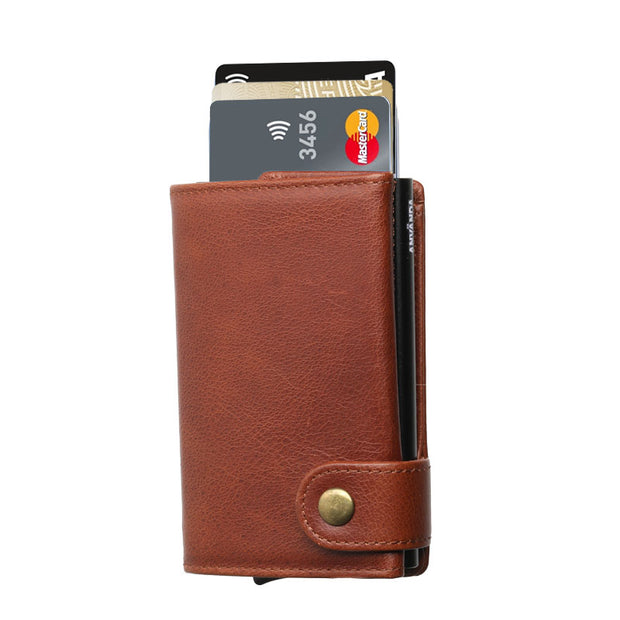 Använda Leather Wallet Euro Step