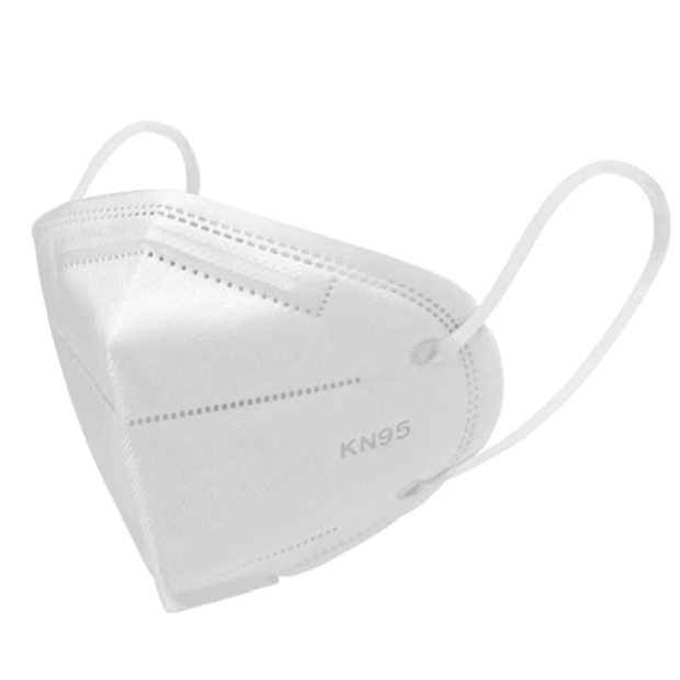 Kn95 Mask with white background