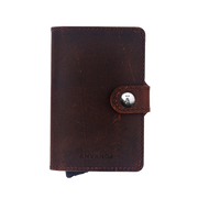 Använda Leather Wallet