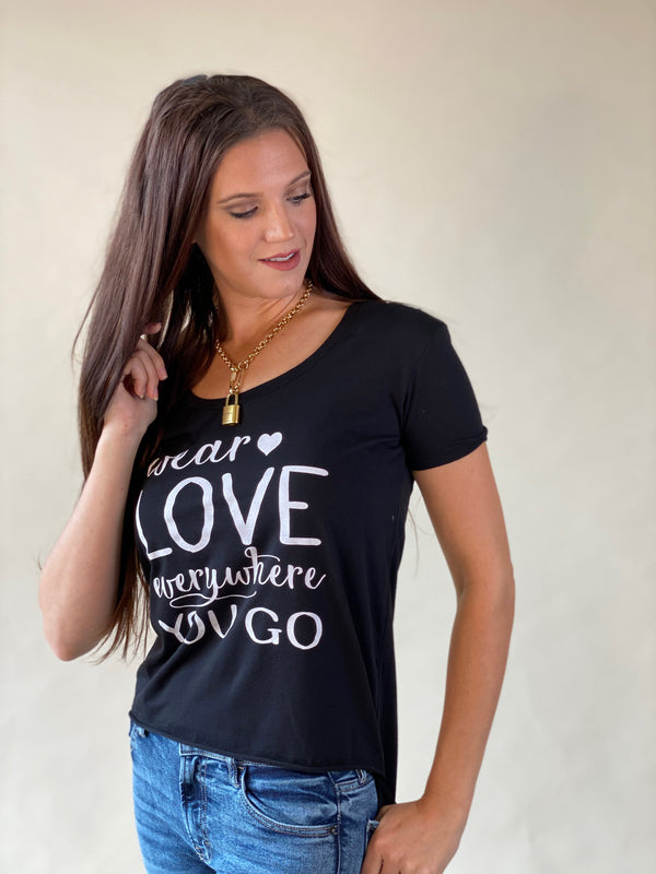Wear Love Everywhere - Black