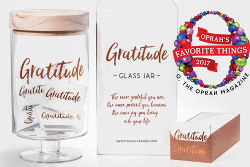 Gratitude Glass Jars - Gratitude