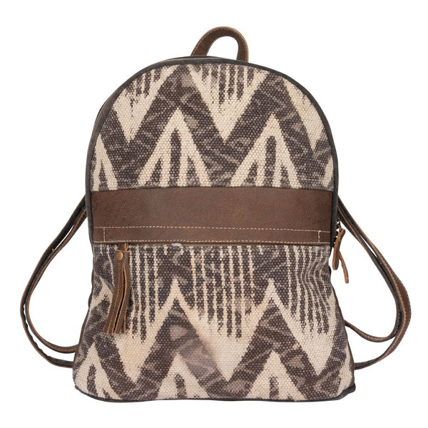 Brown Harmony Backpack Bag
