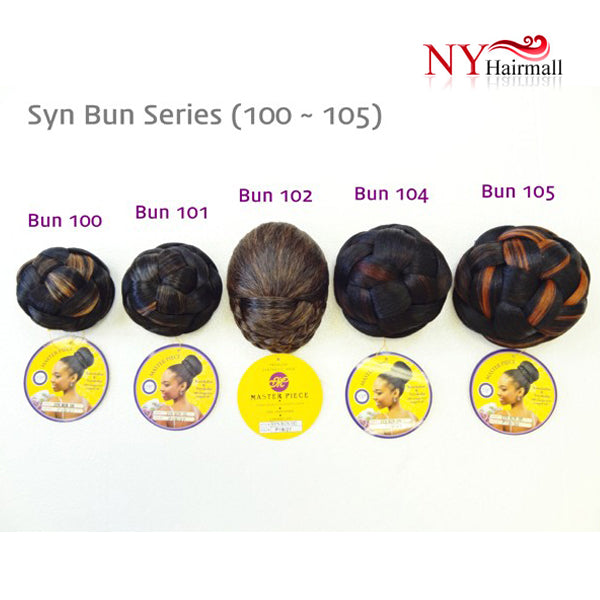 Masterpiece Synthetic Bun - Bun 104