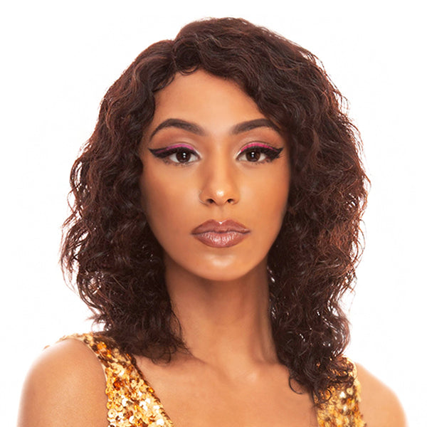 The Wig Black Pink WET & WAVY  100% Brazilian Remy Full Wig - HBL WET N LOOSE DEEP