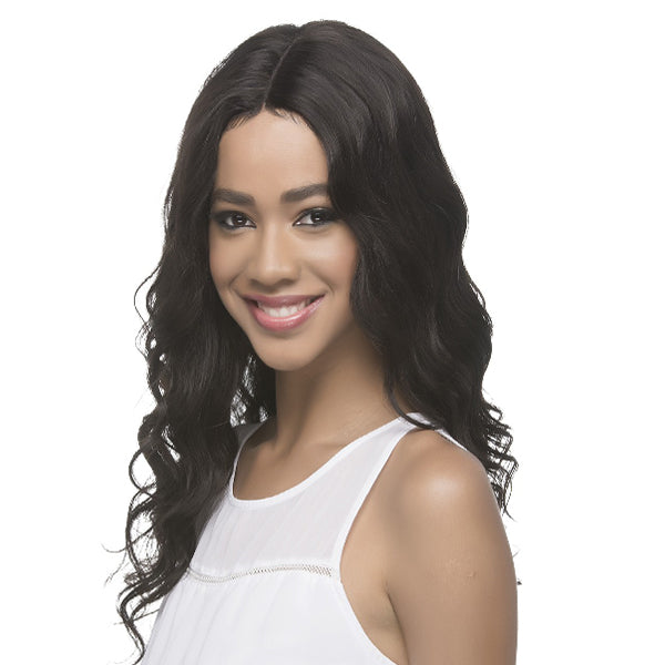 Vivica Fox 100% Brazilian Natural Remi Human Swiss Lace Wig - MARGO