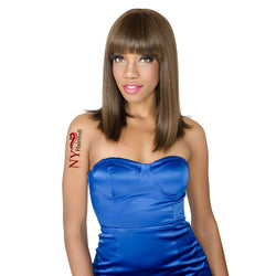 Golden Source Fashion Source High Heat Fiber Wig - HT JONES