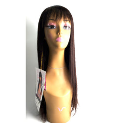 "The Wig Black Pink 100% Brazilian Virgin Remy Full Wig - HHBW CLEO 18""22"""